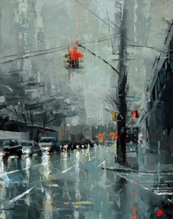 Red Hook Paintings By Brooklyn Artist