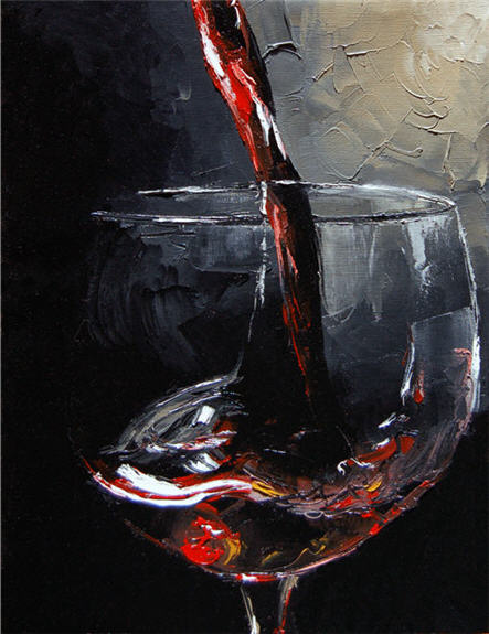 glass of Merlot